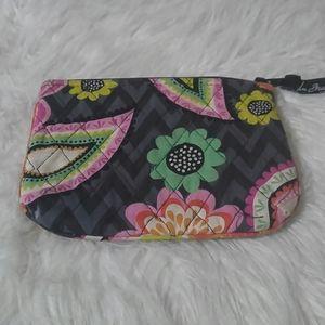 Vera Bradley Cosmetic Medium Bag in Ziggy Zinnia